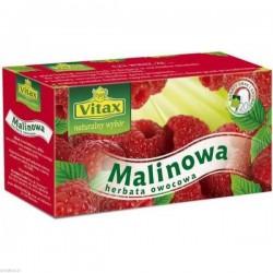 Herbata VITAX malinowa 20tb opak.20