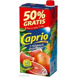 CAPRIO nektar z róż.grejfrutów 2l