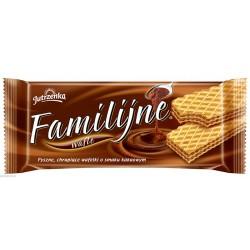 JUTRZENKA wafle Familijne kakaowe 180g